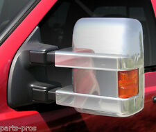 New PUTCO Chrome Side Mirror Covers / FITS 2008-2012 FORD F250 & 350 SUPER DUTY