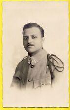 cpa Carte Photo Portrait SOLDAT MILITAIRE du 309ème Régiment Uniforme Fourragère