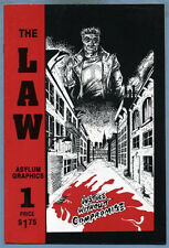 The Law #1 1989 Wayne Bertsch Asylum Graphics