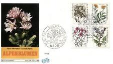 Germany 1983 FDC 1188-91b Kwiaty Blumen Flowers