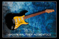 GFA Wake Me Up (Avicii) * ALOE BLACC * Signed Autographed Electric Guitar COA