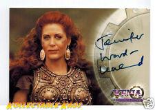 Xena Warrior Princess Autograph A12 Jennifer Ward - Lealand