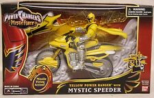 Power Rangers Mystic Force - Mystic Speeder Cycle With Yellow Ranger (MISB)