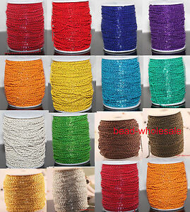 5m/100m Cable Open Link Iron Metal Chain Findings Lots Many Colors To Pick