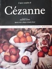 L'OPERA COMPLETA DI CÉZANNE # Rizzoli 1970 # 1A EDIZ.