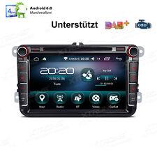 "Android 6.0 Autoradio 8"" DVD GPS Navi Bluetooth 5.0 für VW Sharan Passat Caddy"