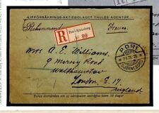 Z177 Finland Sweden Postal Stationery Foreign Air Mail 1925 {samwells-covers}
