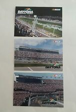 Daytona International Speedway Gift Shop Postcard Lot 3 New 2017 Nascar Monster