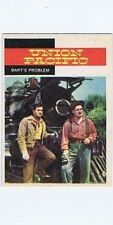 """Topps 1958 Western TV Card #45, Union Pacific, """"Bart's Problem"""""""