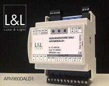 Luce & Light 12-48Vdc DIN Rail DALI Proffessional Bus Controller