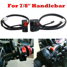 """1PCS Motorcycle 22mm 7/8"""" Handle Bar Ignition Engine Stop Lamp Horn Light Switch"""