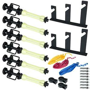 3 Roller Wall Mount Studio Background Support System Heavy Duty Photography