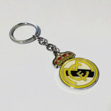 Real Madrid double side badge football soccer Fashion alloy keychain key ring