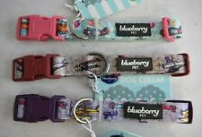 BLUEBERRY PET Medium Aviation Theme Dog Collar, 3-Pk