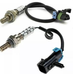 2x Up&Downstream Oxygen O2 Sensor for 10-14 Chevy Equinox GMC Terrain Pontiac G6