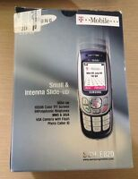 SAMSUNG SGH-E820 MOBILE PHONE BOXED WORKING PAY AS YOU GO T-Mobile VINTAGE