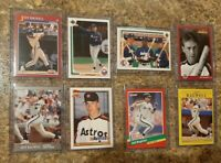 (8) Jeff Bagwell 1991 Ultra Upper Fleer Topps Score Rookie Card Lot RC Astros