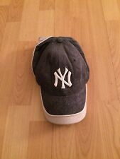 Used Vintage New York Yankees Baseball Team Hat Visor Cap
