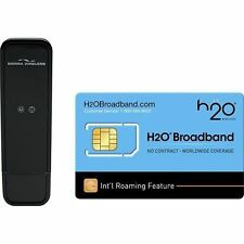 H2O Broadband No Contract Worldwide Internet Sierra Wireless Compass 888