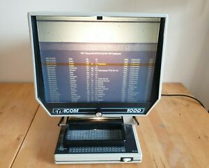 Eyecom 1000 Microfiche Reader Tested & Working 10002 micro fiche view microfilm