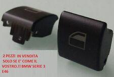 2 PEZZI INTERRUTTORE ALZACRISTALLI Pulsante  BMW SERIE 3 E46  01/05 SPED VELOCE