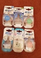 Phillips Avent Box of 2 Baby Teats