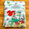 Vintage Little Mermaid Disney Ariel Twin Fitted Sheet New Old Stock No Packaging