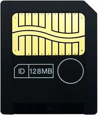 128Mb Sm SmartMedia Memory Card 128M For Korg Yamaha Roland Fujifilm Olympus Neu