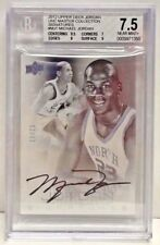 Michael Jordan 2011-12 UD Master Collection #MJ-1 on-card Autograph #/23 BGS 7.5