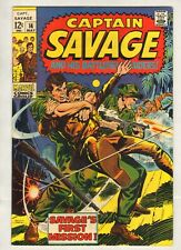 Captain Savage And His Leatherneck Raiders #14 (NM-) (1969, Marvel) [g]