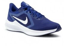 Nike Downshifter 10 Trainers New Men's Size UK 9 Blue Running Gym Sports Shoes