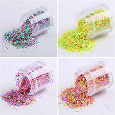 1mm Mixed Colorized Nail Art Glitter Sequins Candy Color Round DIY Decoration