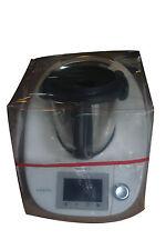 HOUSSE DE PROTECTION THERMOMIX TM5/TM31 sans Varoma Transparente biais Rouge