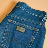 Wrangler Jeans Blue Straight High Rise Zip Vintage Women's Small UK 8 W 27 L 33