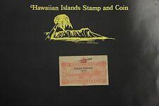 Hawaiian Stamps Double Overprint Scott#U11