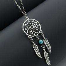 Pendentif Attrape Rêves Bijoux pour Femme Fille Ado Collier Cadeau Turquoise