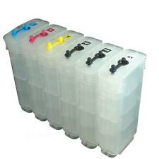 Refillable Ink Cartridges (130ml) for HP 72 Designjet T610 T620 T770 T790 T1100
