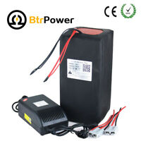 48v50Ah Lithium Li-ion Battery Pack for E-Bike 2500W Motor Scooter 5A Charger