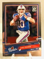 2020 Donruss Optic JAKE FROMM RC THE ROOKIES PARALLEL #TR-JF BUFFALO BILLS