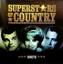 Superstars of Country: Duets TIME LIFE CD Kenny Rogers Dolly Parton Music