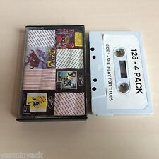 128 4 pack-tynesoft-kassette-zx spectrum - 1987-geprüft/acc
