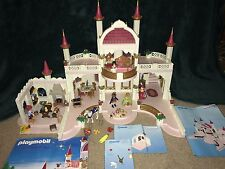 Playmobil 4250 Princess Magic Castle Retired SET Almost Complete + Add Ons RARE