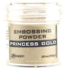 Ranger Embossing Powder Princess Gold Acid Free Non Toxic Rubber Stamping