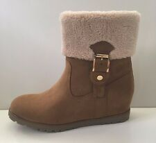 989f6306026 NEW Tommy Hilfiger Soffia 2 Women s Wedge Suede Boots Shoes Sz ...