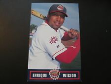 2000 Enrique Wilson Cleveland Indians Post Cards / Postcards