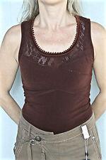 body débardeur marron stretch HIGH USE Taille M neuf/étiquette  VALEUR 170€