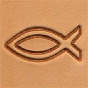 8512 Fish Craftool 2-D Stamp Tandy Leather 88512-00