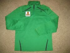 Vintage San Jose Clash Adidas MLS Soccer 1/4 Zip Pullover Sweatshirt L Rare Sewn