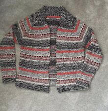 Per UNA @ Marks  & Spencer Size 10 Knitted Jumper Cardigan, Thick Warm Winter