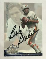 Bob Griese Signed 1994 Roger Staubach's NFL Football Card #32 AUTO Dolphins PSA